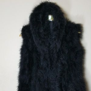 Beautiful Vintage Faux Fur Vest